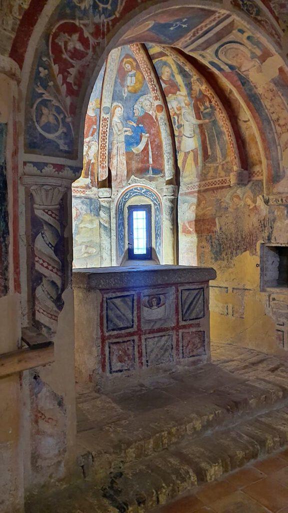 chiesa di santa maria della rocca, offida