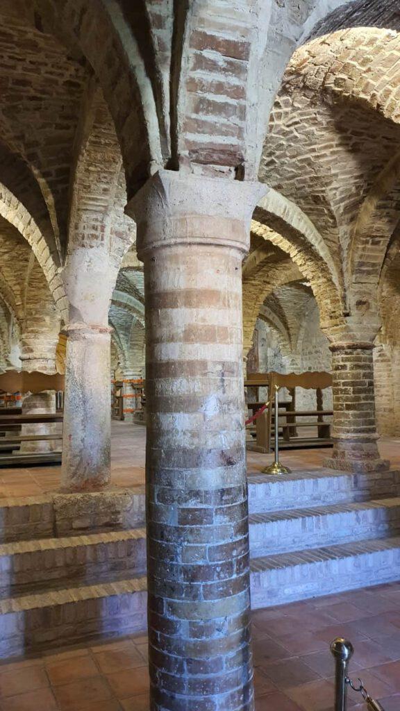 santa maria della rocca, cripta offida
