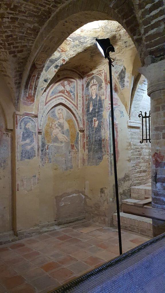 chiesa di santa maria della rocca, piceno